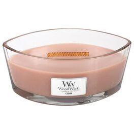 WoodWick® HearthWick Flame® Candle, Cedar, , large