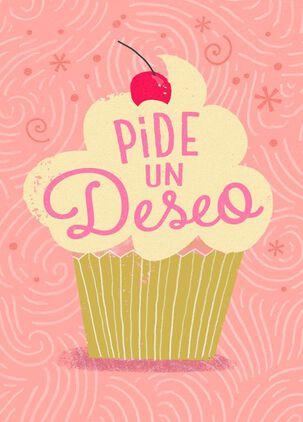 Make a Wish Spanish-Language Birthday Card