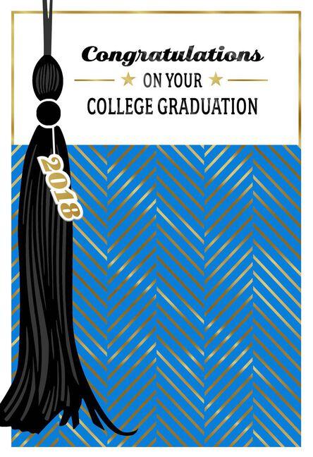 Tassel 2018 College Graduation Card Greeting Cards Hallmark
