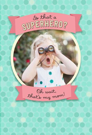 Superhero Mom Mother's Day Card
