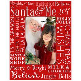 Santa & Me Malden 4x6 Picture Frame, , large