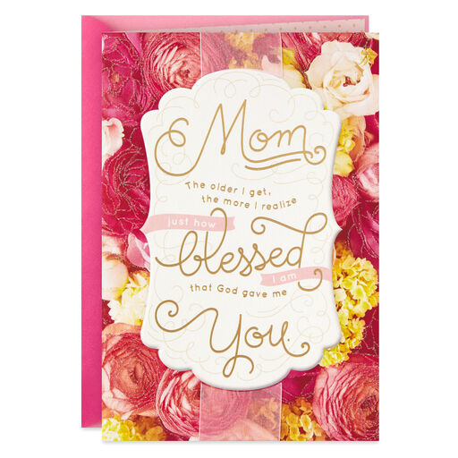 God Gave Me You Religious Mothers Day Card From Adult Child
