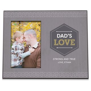 Dad's Love Personalized 4x6 Picture Frame,