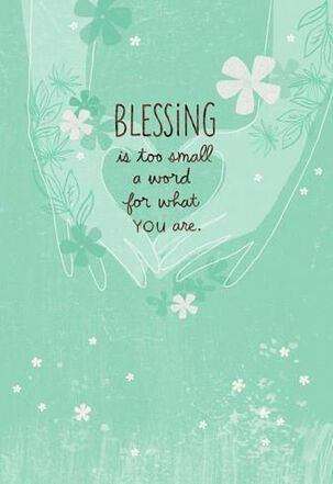 Happy Blessing Birthday Card
