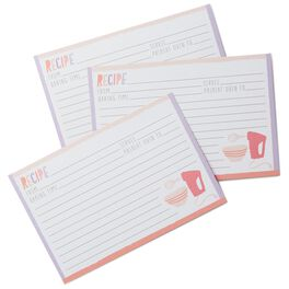 So Many Desserts Recipe Refill Cards, , large