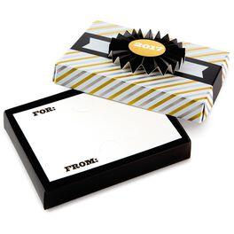 "2017 Banner on Stripes Gift Card Holder Box, 5.25"", , large"