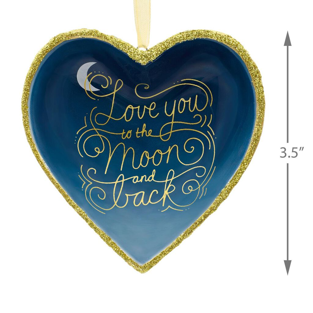 Signature Premium Love You To The Moon And Back Porcelain Hallmark