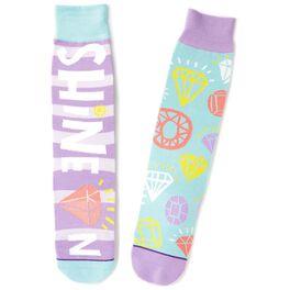 Shine on Toe of a Kind Socks, , large
