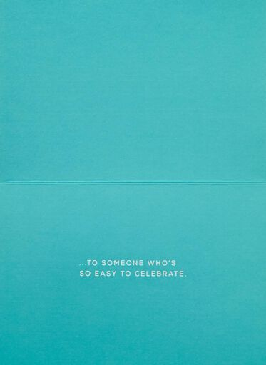 Confetti Easy to Celebrate Birthday Card,