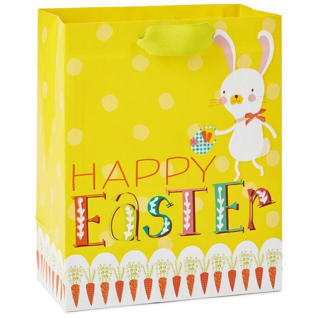 Happy easter bunny medium gift bag 96 gift bags hallmark happy easter bunny medium gift bag negle Gallery