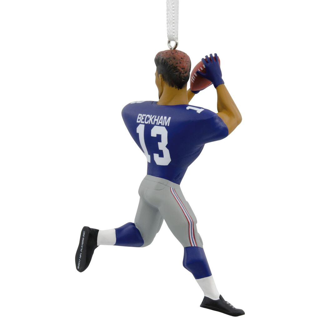 NFL New York Giants Odell Beckham Jr. Hallmark Ornament - Gift ...