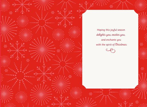 FROSTY THE SNOWMAN™ Wonder, Magic & Fun Christmas Card,