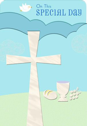 Cross and Chalice First Communion
