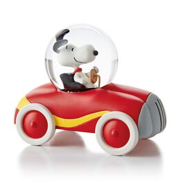 Miniature Snoopy Car Water Globe, , large