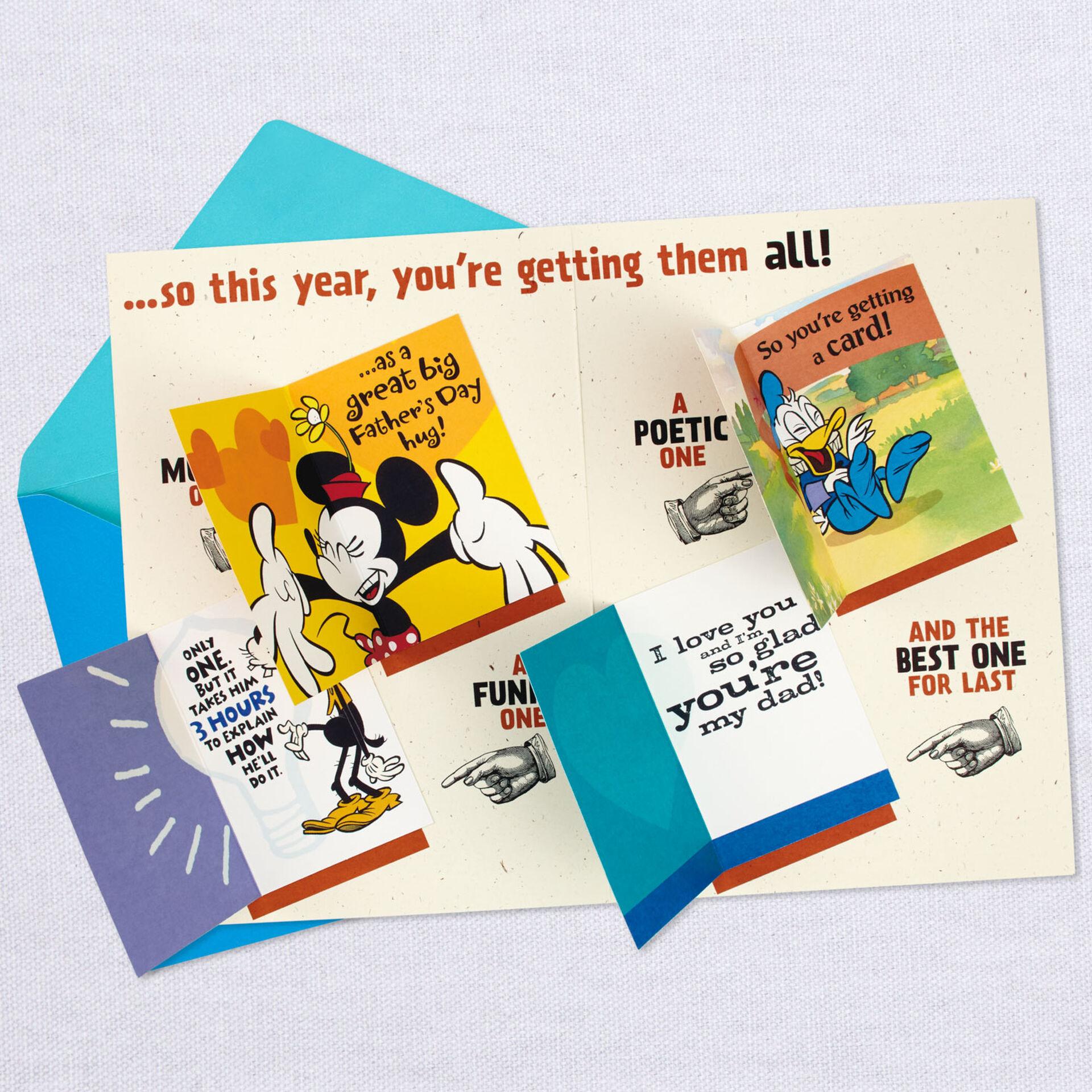 Disney Grumpy Design Fathers Day Card from Hallmark