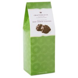 6 oz. Dark Chocolate & Mint Cookie Clusters in Gift Box, , large