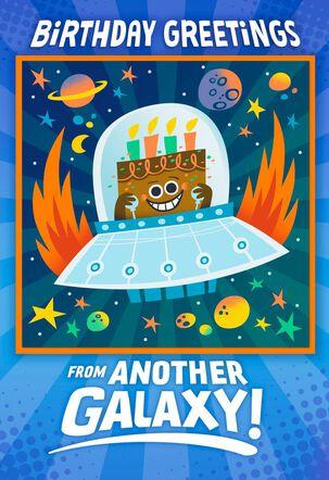 Great Big Cosmic Wish Birthday Card