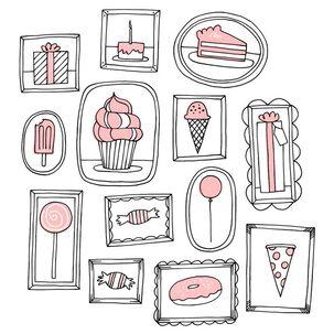 Sweet Pink Treats Birthday Card