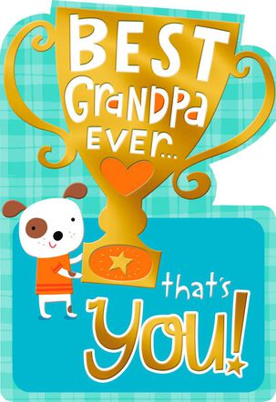 You're the Best Grandpa Ever Birthday Card