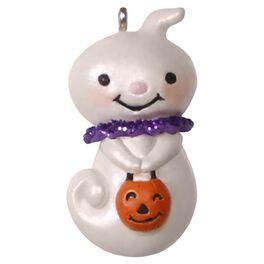 Teensy-Weensy Ghost Mini Halloween Ornament, , large