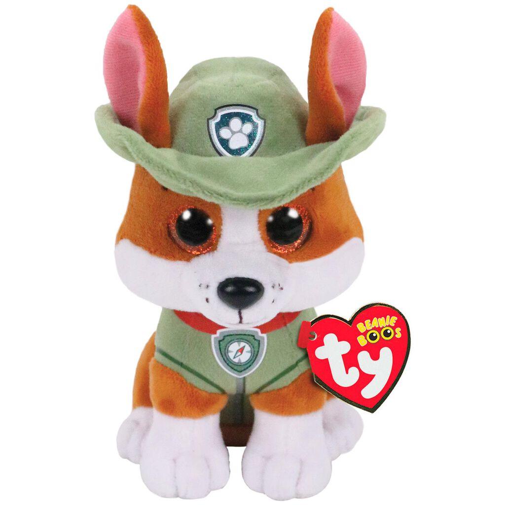 Ty Paw Patrol Tracker Dog Stuffed Animal 6 Classic Stuffed
