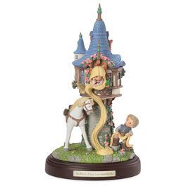 Precious Moments® Rapunzel and Castle Musical Figurine, , large