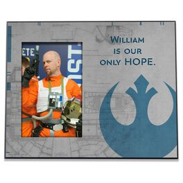 Star Wars™ Light Side Personalized 4x6 Picture Frame, , large