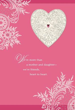 Between Us for Mom Valentine's Day Card