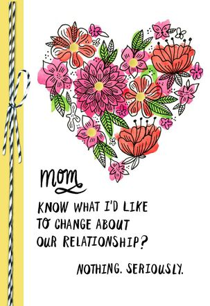 We're Family and Friends Mother's Day Card