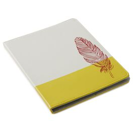 Natural & Authentic Feather iPad Case, , large