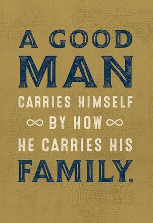 Jill Scott A Good Man Father's Day Card