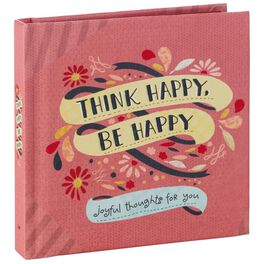 Think Happy, Be Happy Book, , large