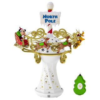 Disney Mickey Mouse Oh, What Fun! Tree Topper With Light and Music,