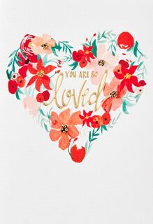 You Are So Loved Christmas Card,