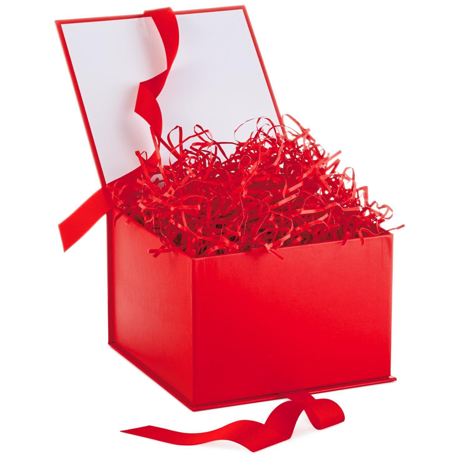 ... Red Large Gift Box With Shredded Paper Filler  sc 1 st  Hallmark & Gift Boxes | Hallmark