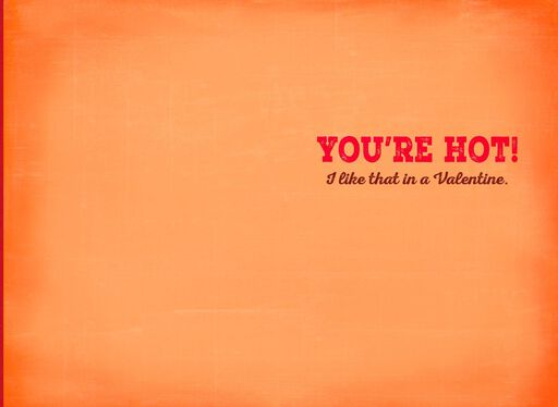 Flaming Hot Disco Inferno Musical Valentine's Day Card,