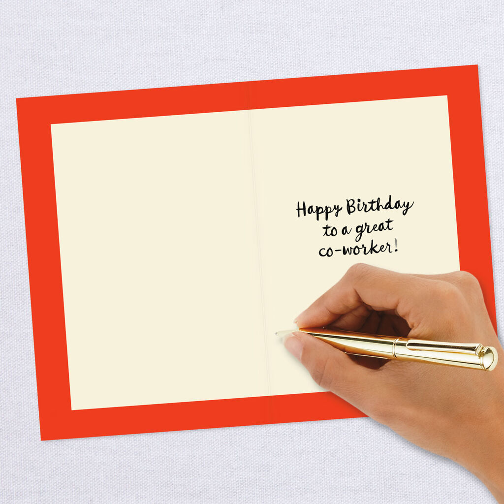 Make A Wish Birthday Card For Co Worker