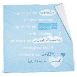 Baby Boy Blue Story Blanket, , large