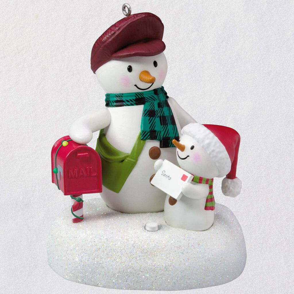Special Delivery Snowmen Musical Ornament - Keepsake Ornaments ...