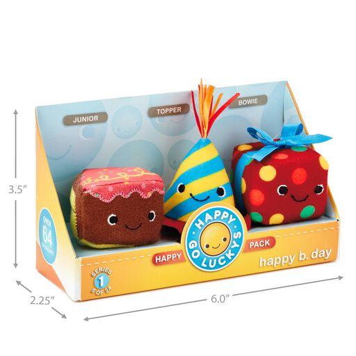 Happy Go Luckys B Day Mini Stuffed Animals Set Of 3