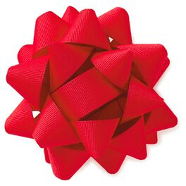 """Red Grosgrain Bow, 5"""", , large"""