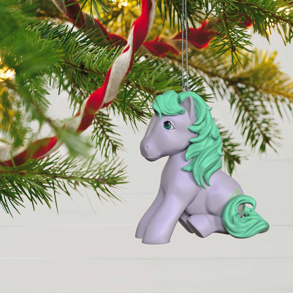 My Little Pony Christmas.My Little Pony Seashell Ornament