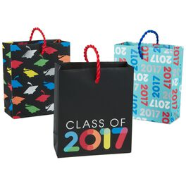 Multicolor 2017 Graduation Gift Card Holder Bags, Pack of 3, , large