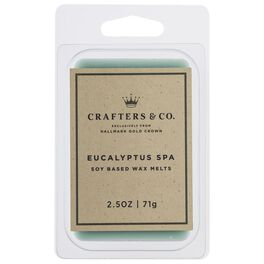 Crafters & Co. Eucalyptus Spa Wax Melt, 2.5-oz, , large