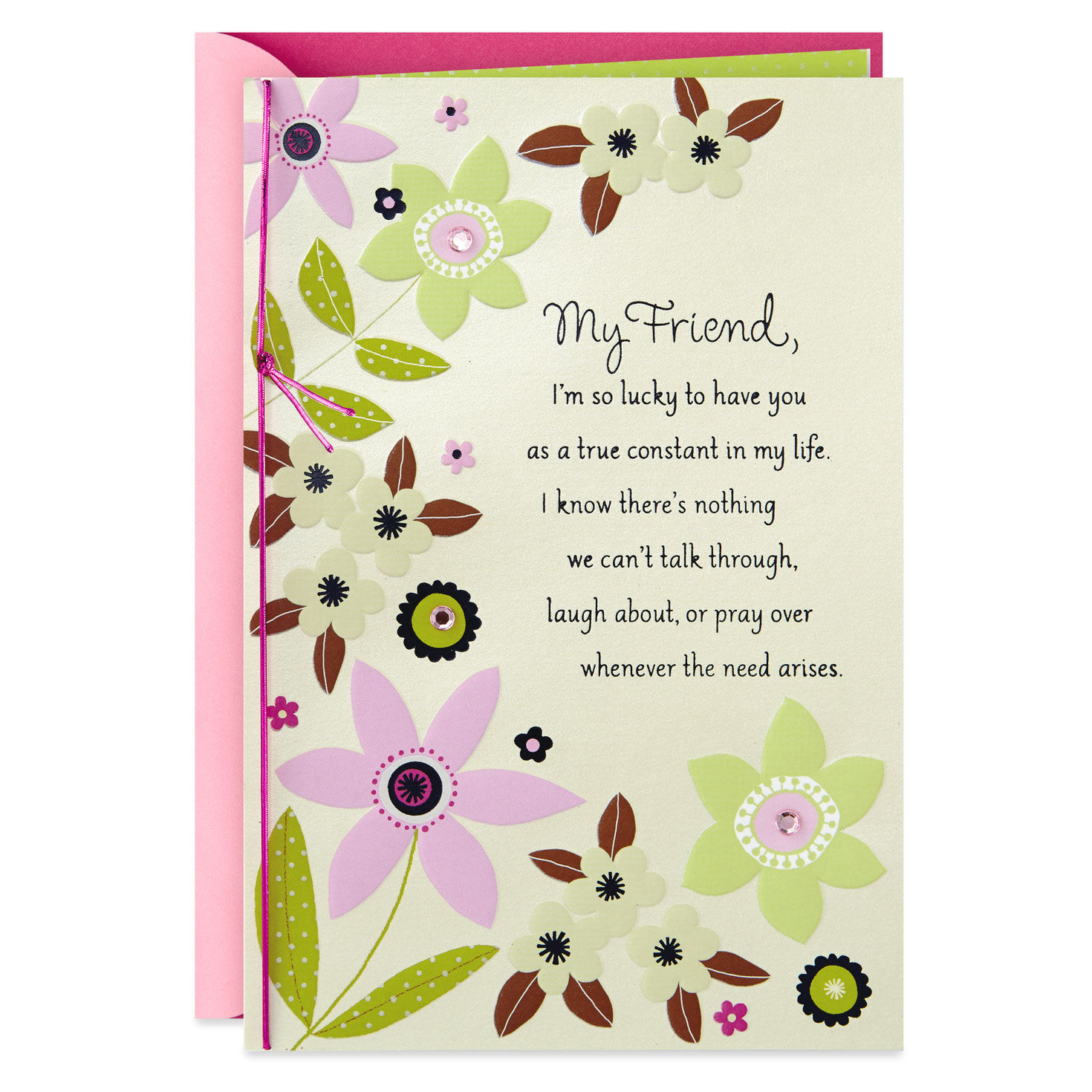 Hallmark To My Fiancée Birthday Card **FREE P/&P**