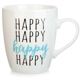 """Happy"" Jumbo Mug, 25 oz., , large"