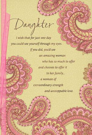 Proud of You, Mother's Day Card for Daughter