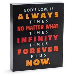 Infinity Forever Sentiment Print, , large