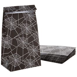 Spiderweb Halloween Treat Bags, Pack of 15, , large