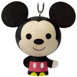 Mickey Mouse Wood Ornament, , large